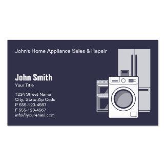 Servicio, venta y reparación del aparato tarjetas de visita