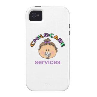 SERVICIOS DE CUIDADO DE NIÑOS Case-Mate iPhone 4 CARCASAS
