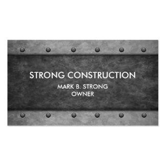Servicios de la construcción tarjetas de visita