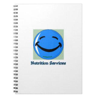 Servicios de la nutrición del HF del hospital Cuaderno