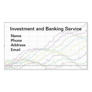 Servicios de las actividades bancarias y de invers plantilla de tarjeta personal