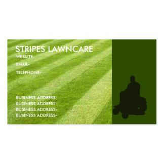 Servicios del jardín plantilla de tarjeta de visita