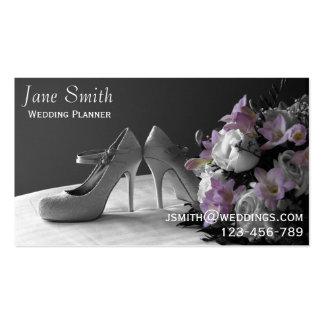 Servicios independientes elegantes del boda del tarjetas de visita