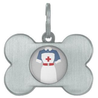 Servicios médicos y de la emergencia del oficio de placa de mascota