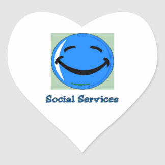 Servicios sociales del HF Pegatina En Forma De Corazón
