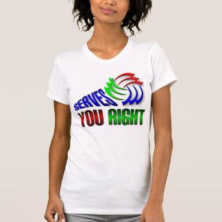 Servicios usted derecho camiseta