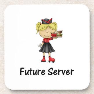 servidor futuro posavasos de bebida
