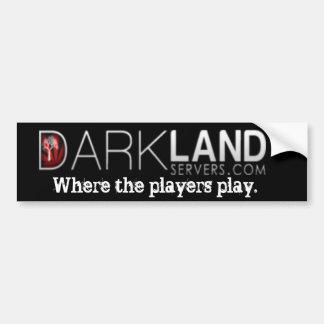 Servidores de Darkland Pegatina Para Auto