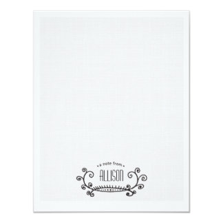 Serviette Personal Note Cards