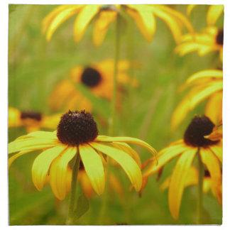 Servilleta amarilla de Coneflowers