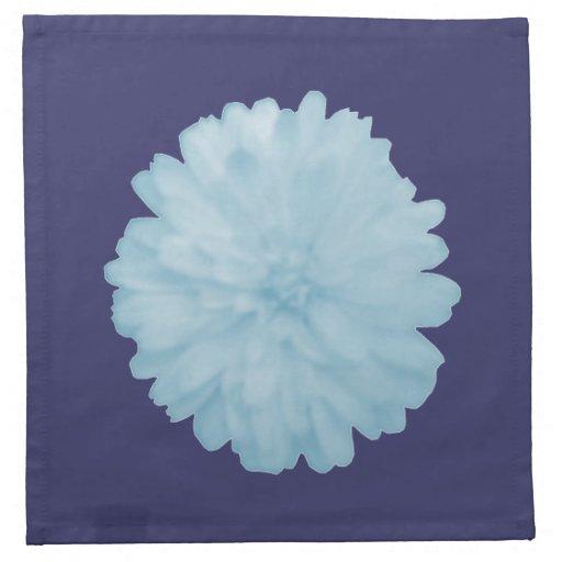 Servilleta azul helada de la maravilla