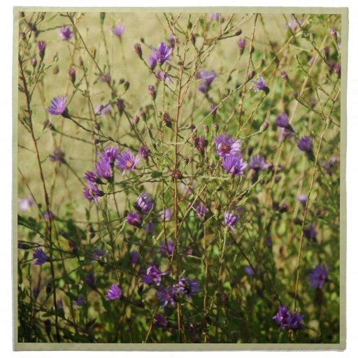 Servilleta botánica de MoJo del americano del aste