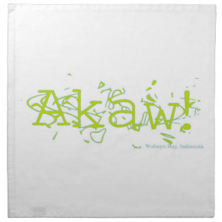 Servilleta de Akaw
