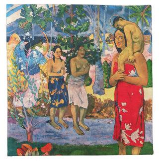 Servilleta de Gauguin Ia Orana Maria