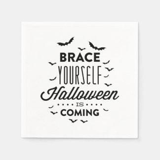 Servilleta de HALLOWEEN Halloween del APOYO USTED Servilletas Desechables