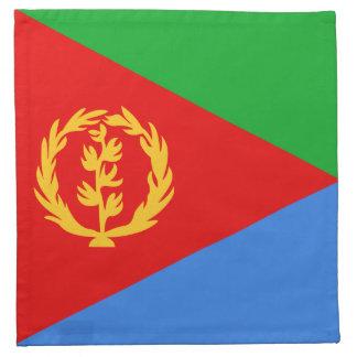 Servilleta de la bandera de Eritrea