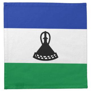 Servilleta de la bandera de Lesotho