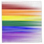 Servilleta de la bandera del arco iris (fije de 4)