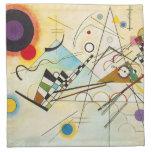 Servilleta de la composición VIII de Kandinsky