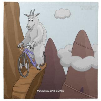 Servilleta de las cabras de la bici de montaña