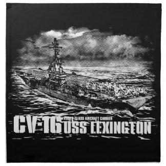 Servilleta de Lexington Dawsonsf de portaaviones