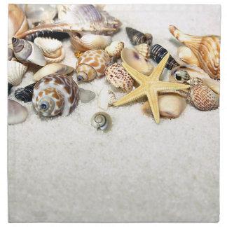Servilleta de los Seashells