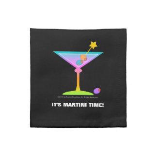 Servilleta de MoJo del americano de Martini del ar