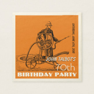 Servilleta de papel de la fiesta de cumpleaños del