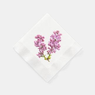 Servilleta de papel - flores de la lila