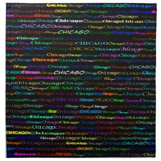 Servilleta del diseño I del texto de Chicago