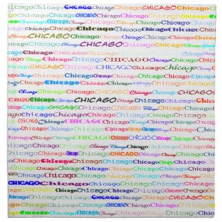 Servilleta del diseño II del texto de Chicago