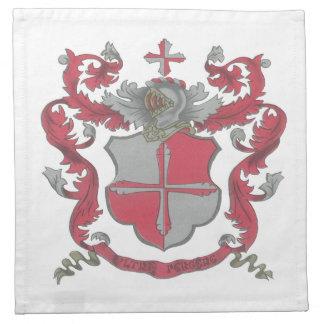 Servilleta del escudo de armas de Crosland