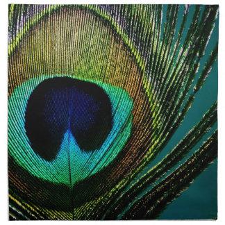 Servilleta elegante de la fotografía de la pluma e