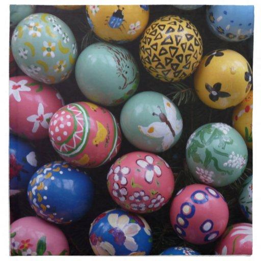 Servilleta feliz de Pascua