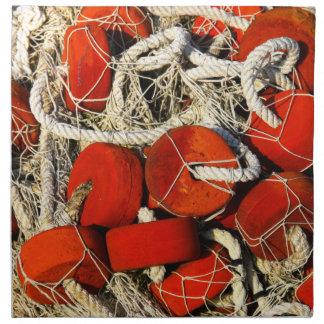 servilleta fisging roja de las redes