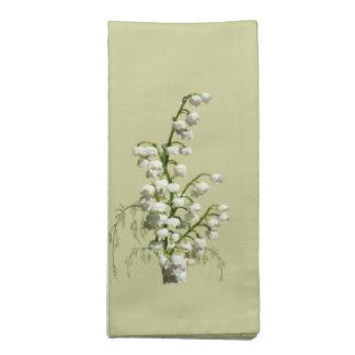 Servilleta floral de MoJo del americano del lirio