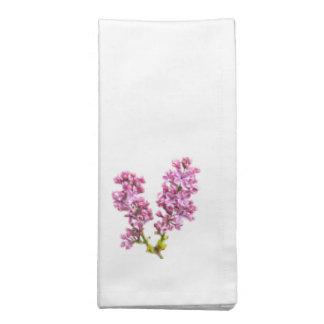 Servilleta - flores de la lila