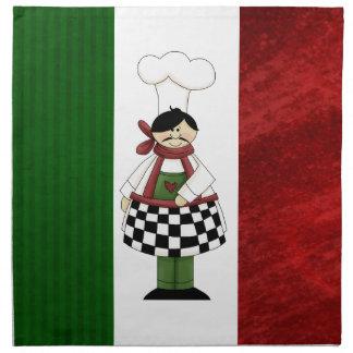 Servilleta italiana de los cocineros