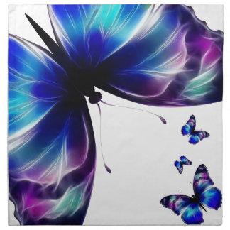 Servilleta púrpura de MoJo del americano de la dan