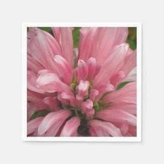 Servilleta rosada de los pétalos servilletas de papel