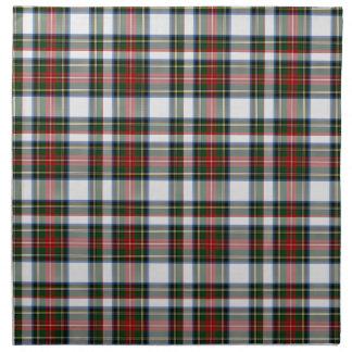 Servilleta tradicional del paño de la tela escoces