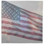 Servilleta vieja magnífica de la bandera