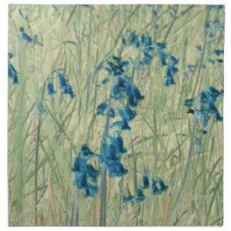 servilletas abstractas de las flores