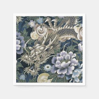 Servilletas asiáticas del estampado de flores del servilleta de papel