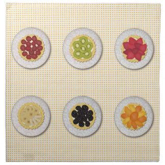 Servilletas aux. de las frutas de Tartes