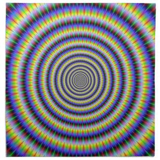 Servilletas Boggling de los círculos del ojo