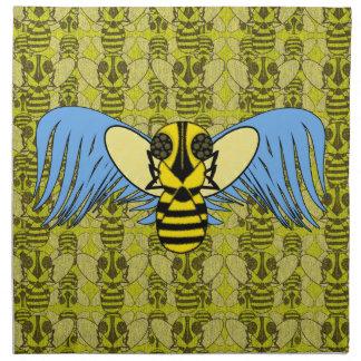 Servilletas de cena de la abeja del ángel