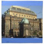 Servilletas de cena del teatro nacional de Praga