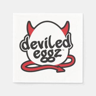 Servilletas de Deviled Eggz Servilletas Desechables
