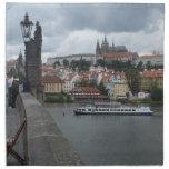 Servilletas de encargo del paño de Praga/de Praga